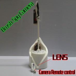 Toilet Spy Camera Brush 32GB Spy Splash 1080P HD Bathroom Spy Camera Motion Detection DVR (RC)