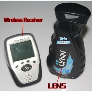 Wireless Spy Camera 2.4G Men's Shower Gel Spy Camera HD Bathroom Spy Camera With Portable Receiver