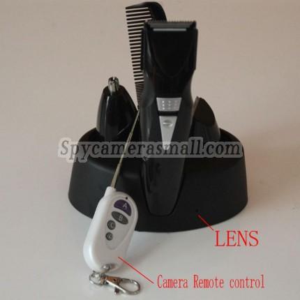 Integration full-size Quad Rechargeable Beard Trimmer Hidden HD 1080P Bathroom Spy Camera DVR 16GB,best Shaver HD Shower Spy Camera DVR, Bathroom Spy Camera
