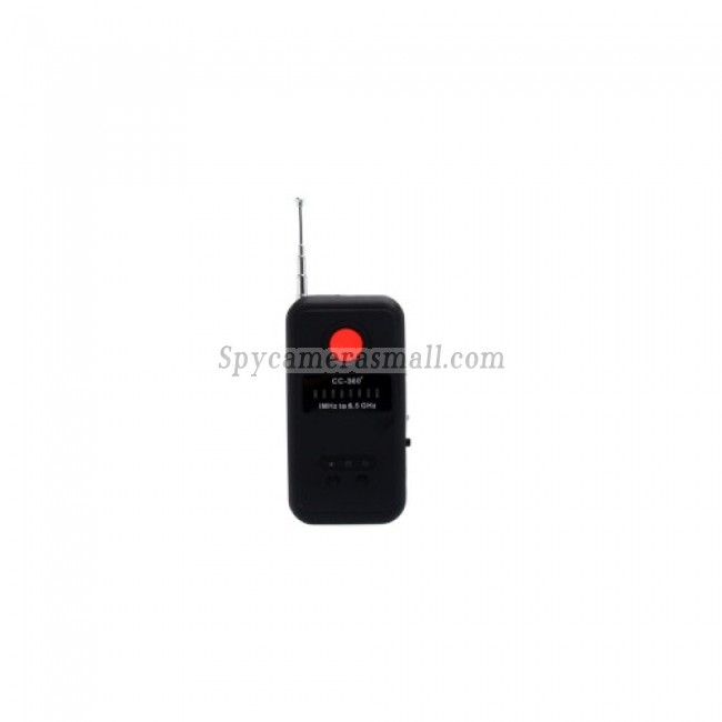 Spy Cameras Detectors - Anti-spy RF and Laser Pinhole Bug Signal Detector with Hidden Camera (1MHz-6.5GHz)