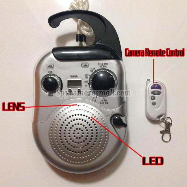 cameraescondida no banheiro de rádio 720P DVR Full HD 16G com detector de movimento melhor camaras escondidas