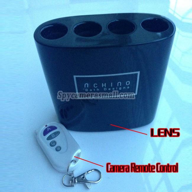 micro camera hd no banheiro de porta-escovas 1080P DVR Full HD 16G com detector de movimento melhor camaras escondidas