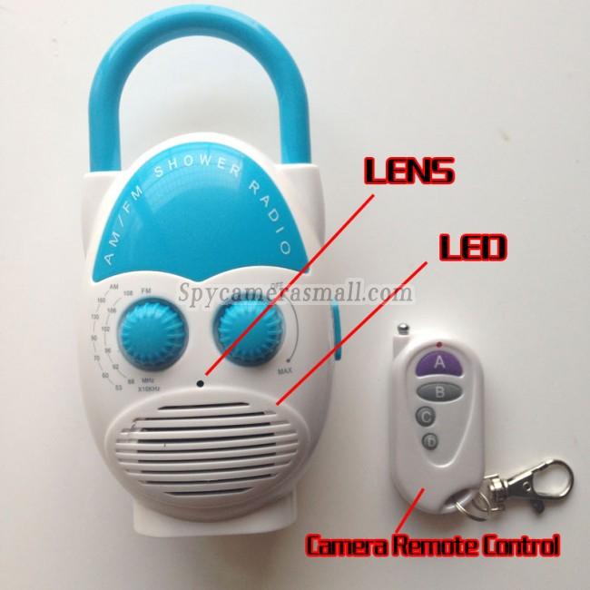 micro camera hd no banheiro de rádio 720P DVR Full HD 16G com detector de movimento melhor camaras escondidas