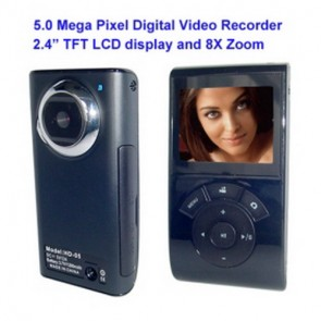 "spy camera - 1280x720 HD Digital Video Recorder with 2.4"" TFT Display, Hidden Camera"