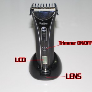 Hair Trimmer Spy Hidden Camera WaterProof HD DVR 720P 32GB Spy Camera,best Shower Radio Camera, Bathroom Spy Camera