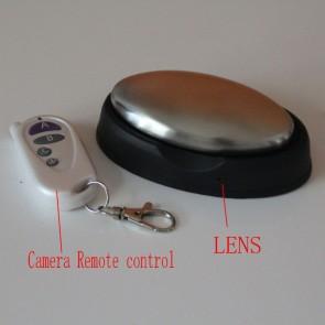 Soap Box Hidden Bathroom Spy Cams DVR - Steel Hand Soap Type Of Fish Hidden 720P HD Bathroom Spy Camera DVR 16GB Remote Control ON/OFF Motion Ativated   Toilet Cam   Hidden Toilet Cam   Hidden Toilet Cams   Toilet Cams   Toilet Spy   Spy Toilet