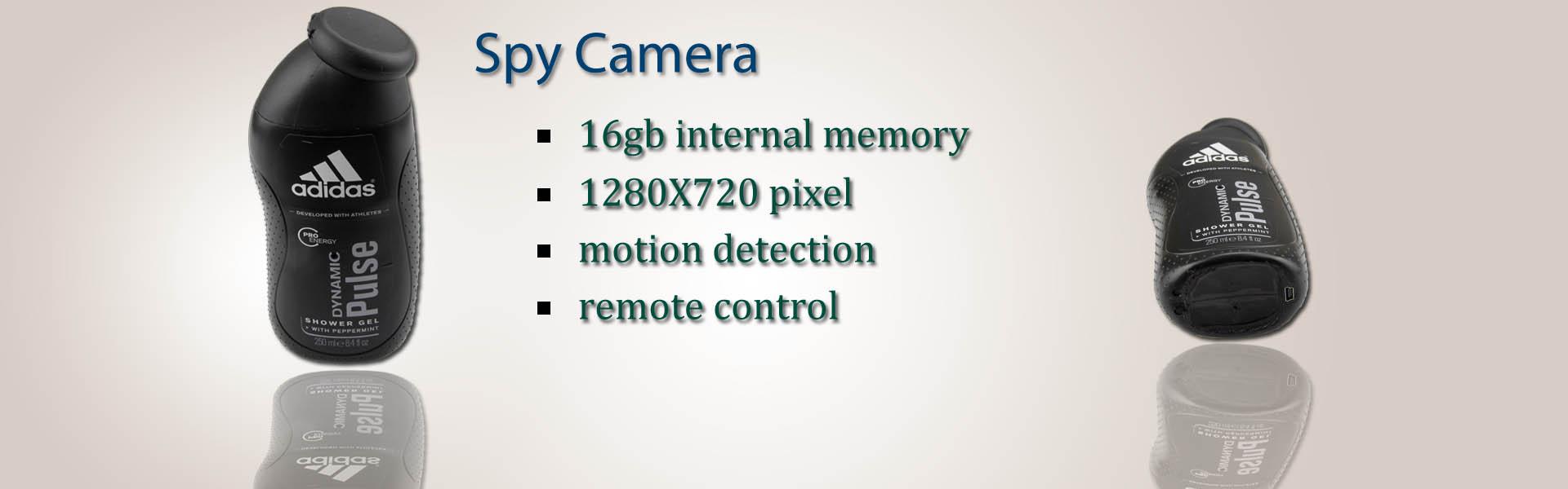 Bathroom Spy camera | New Men's Shower Gel HD Bathroom Spy Camera 720P DVR(Motion Detection+Remote Control)